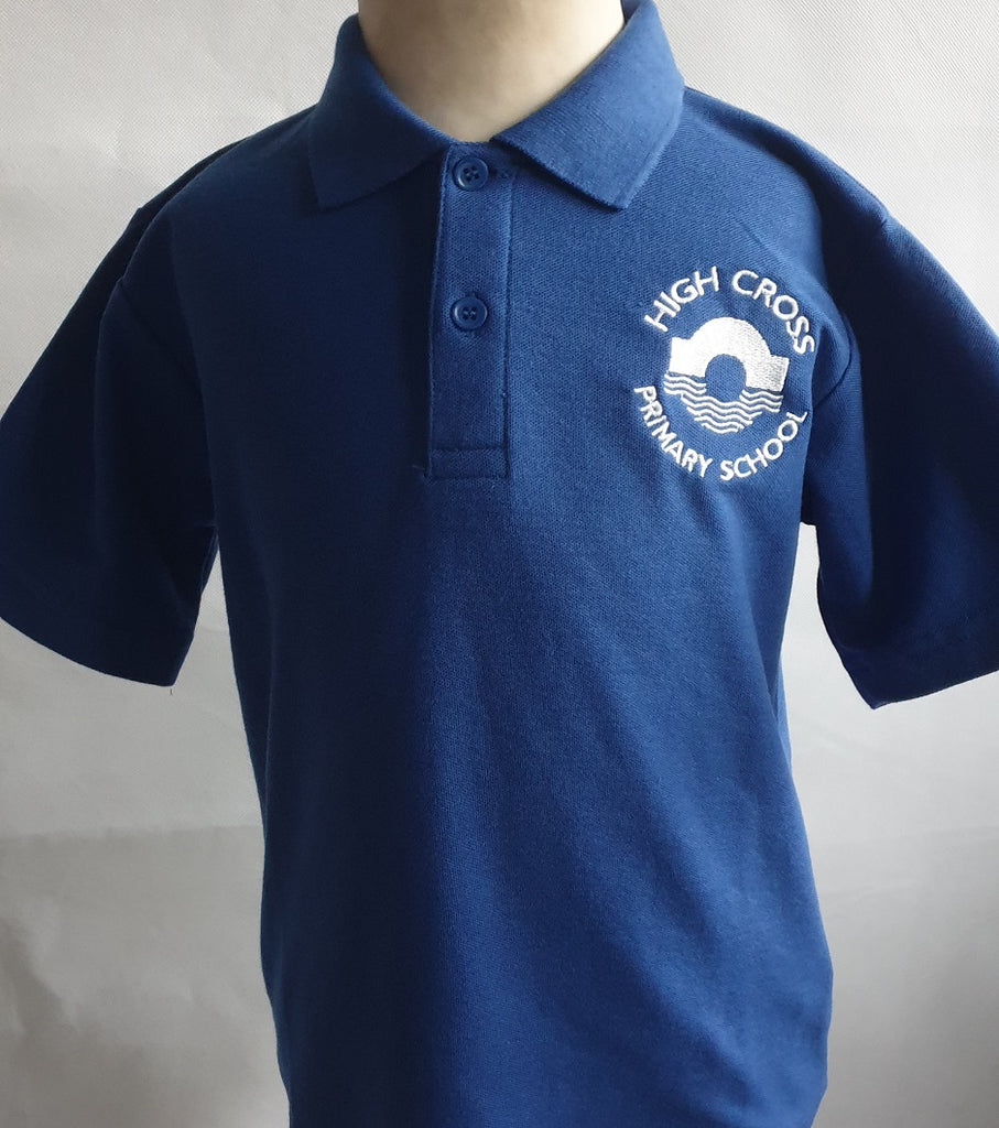 High Cross Primary School PE Polo Shirt