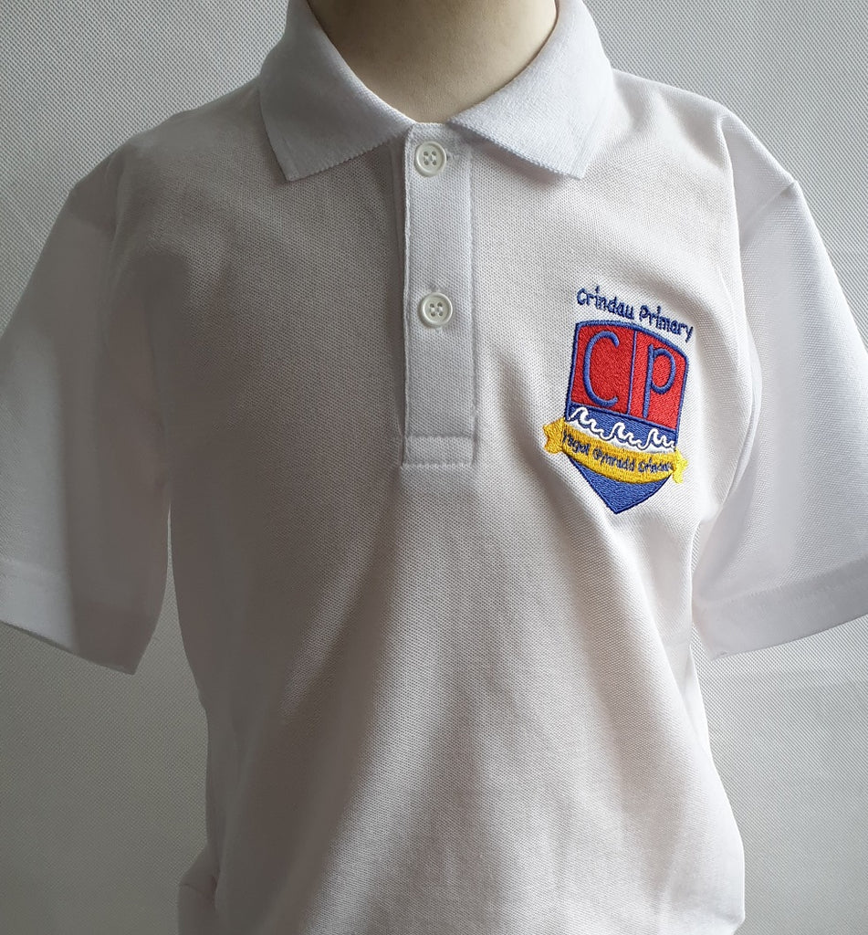 Crindau Primary School Polo Shirt