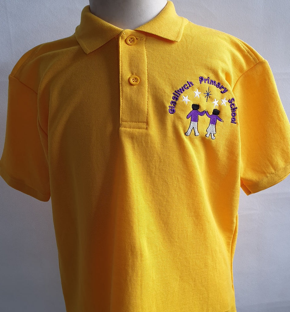 Glasllwch Primary School Polo Shirt