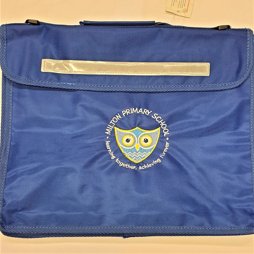 Milton Primary School  Deluxe Bookbag