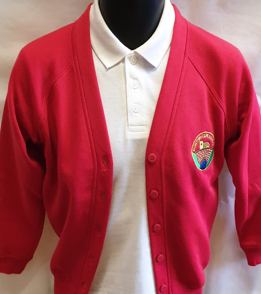 Ponthir Primary School Cardigan