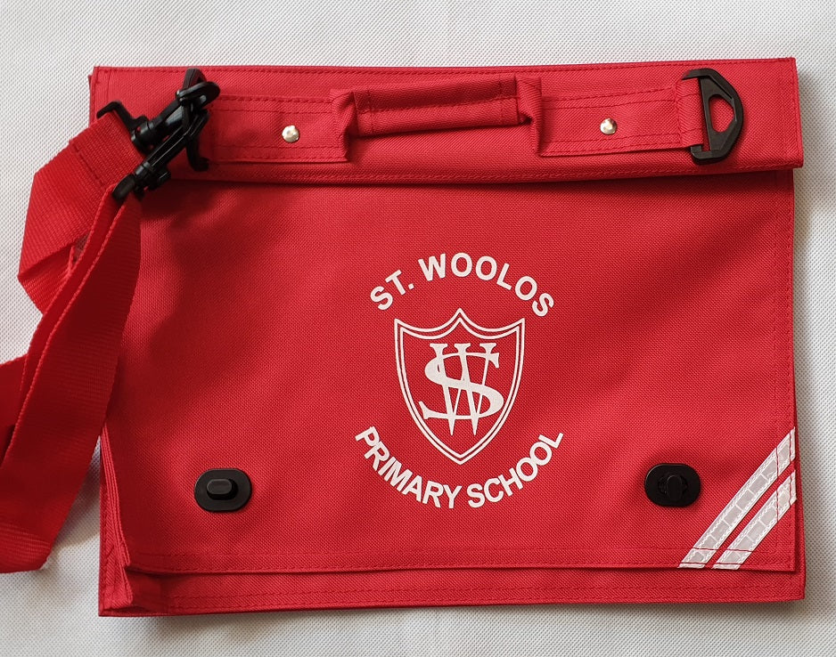 St. Woolos Primary School  Deluxe Bookbag
