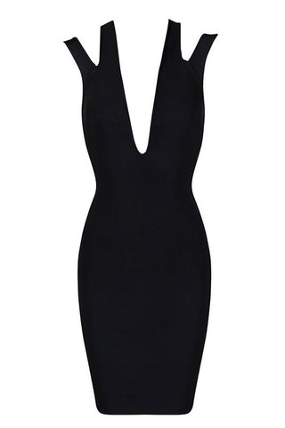 Double Strapped Bodycon Dress