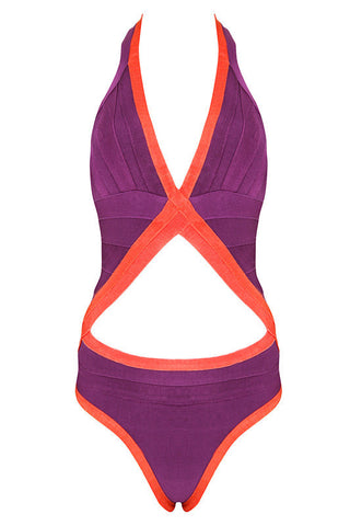Fabs Purple+ Lux Swimsuit Swimwear