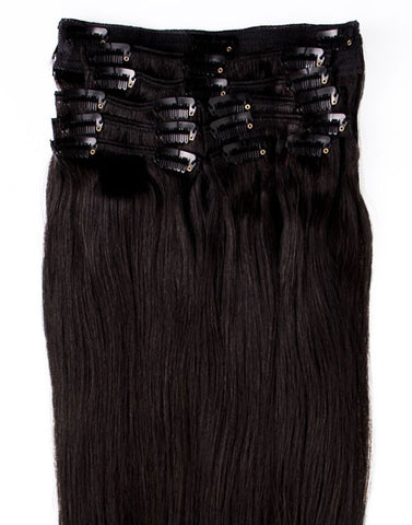 #1B Natural Black (Color As You Wish) Hair Extensions