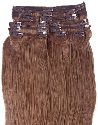 #6 Chestnut Brown Hair Extensions