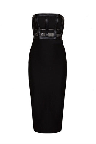 Effie Black Bandage Dress
