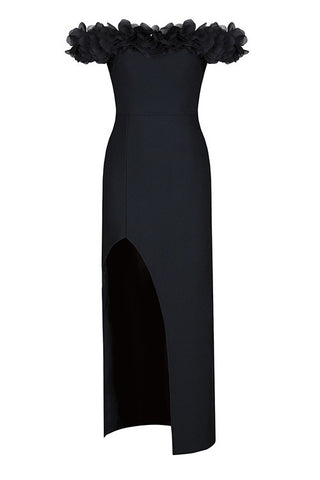 Audra Black Bandage Dress