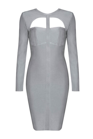 Cathleen Gray Bandage Dress