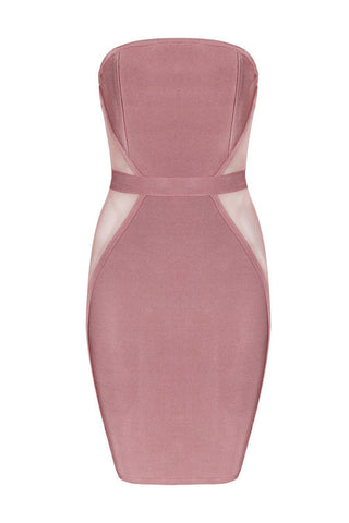 Christian Pink Bandage Dress