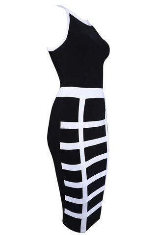 Tommie Black Bandage Dress