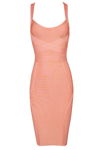 Bobbie Gray Bandage Dress