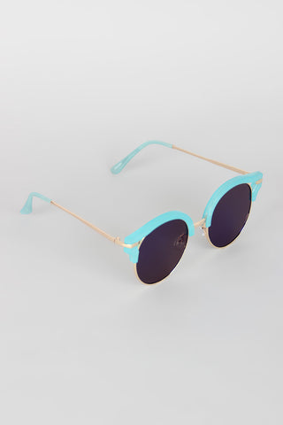 Cat Eye Cutout Retro Sunglasses Accessories