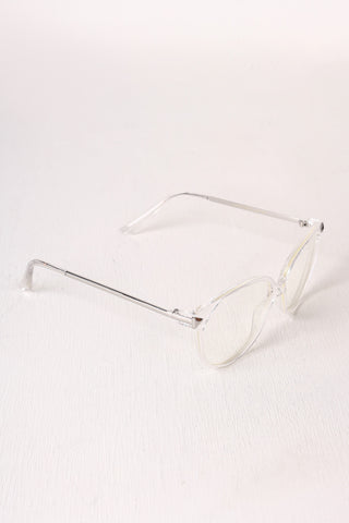 Classic Clear Lens Round Glasses Accessories Sunglasses