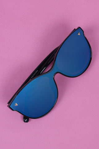 Alluring Mirrored Lenses Sunglasses Accessories