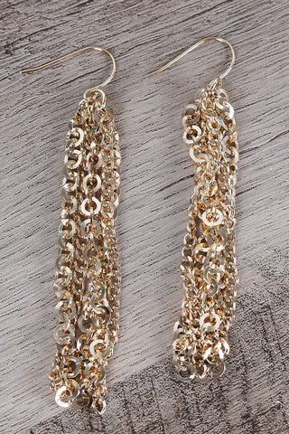 Chain Tassel Earrings Accessories