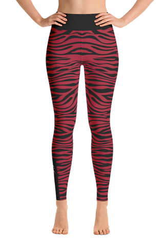 Red Cheetah - Gym Leggings