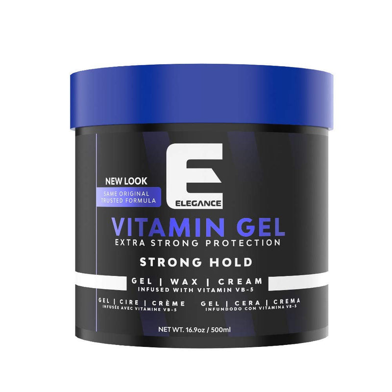Elegance vitamin pro VB5 hair gel 17oz