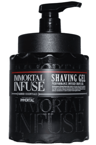 Immortal NYC Shaving Gel Performance Infused Shave Gel [34oz]