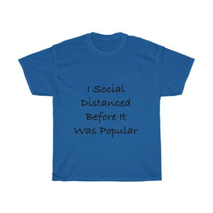 Social Distance Hipster Tee - All Profits to #FightCovid19,T-Shirt,nautilus-west