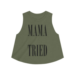 Mama Tried Women's Crop top,Tank Top,nautilus-west