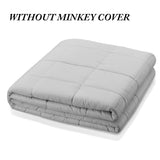 All-Cotton Weighted Comfort Blanket,,nautilus-west