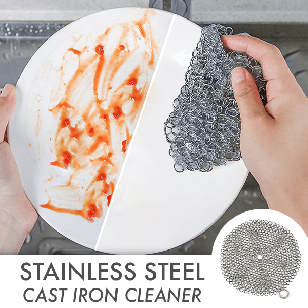 Stainless Steel Cast Iron Cleaner,,nautilus-west