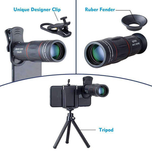 Technology - Smartphone UltraZoom Lens With Tripod & Bluetooth