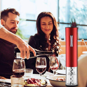 Technology - Stainless Steel Automatic Wine Bottle Opener With Accessories