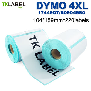 600 Rolls Dymo Compatible Label S0904980 / 1744907 address & shipping label 4XL  104*159 (220 labels)