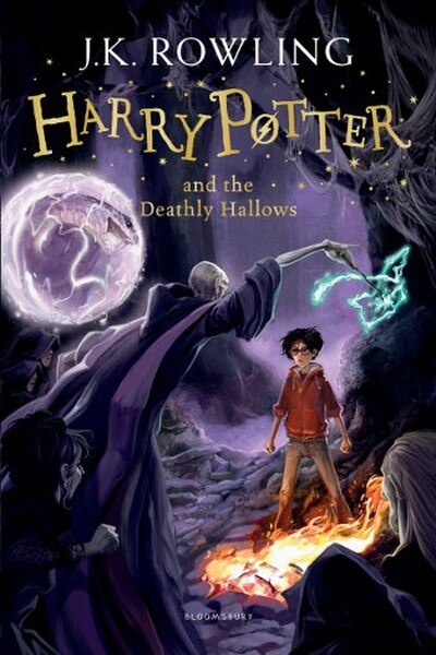 Harry Potter and the Deathly Hallows (Harry Potter 7) J. K. Rowling Bloomsbury (TURKISH)