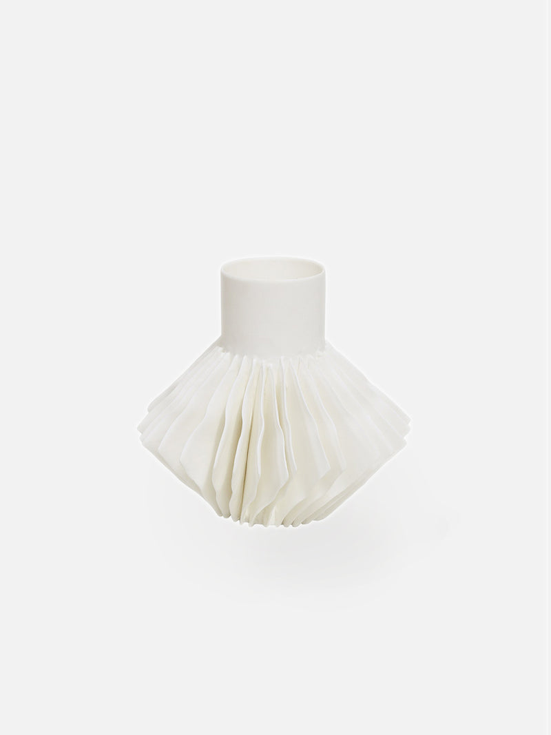 Capiz Vase - FIne Bone China