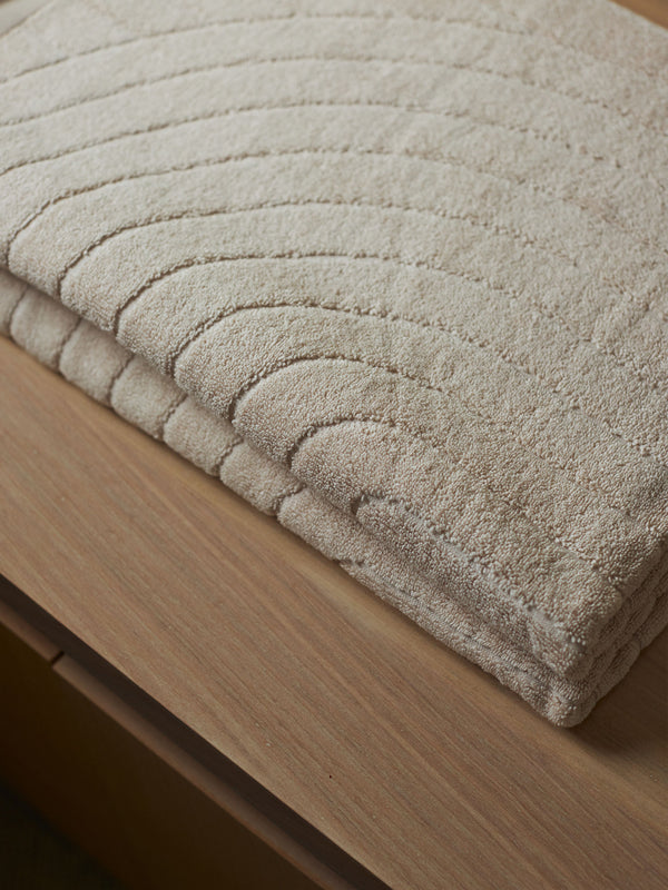 Cove Organic Cotton Bath Towel - Clay