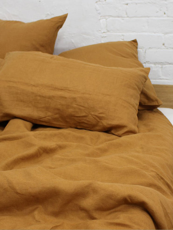 Linen Pillow Case (Set of 2) - Terracotta