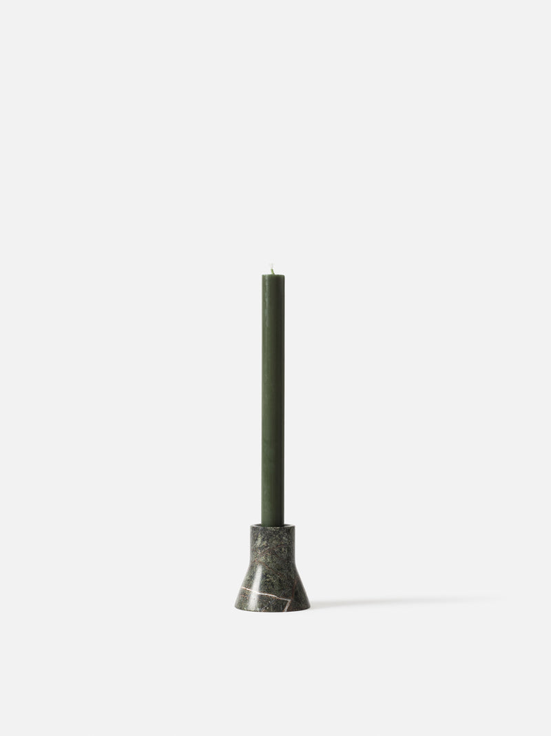 Flare Candle Holder Forest Green