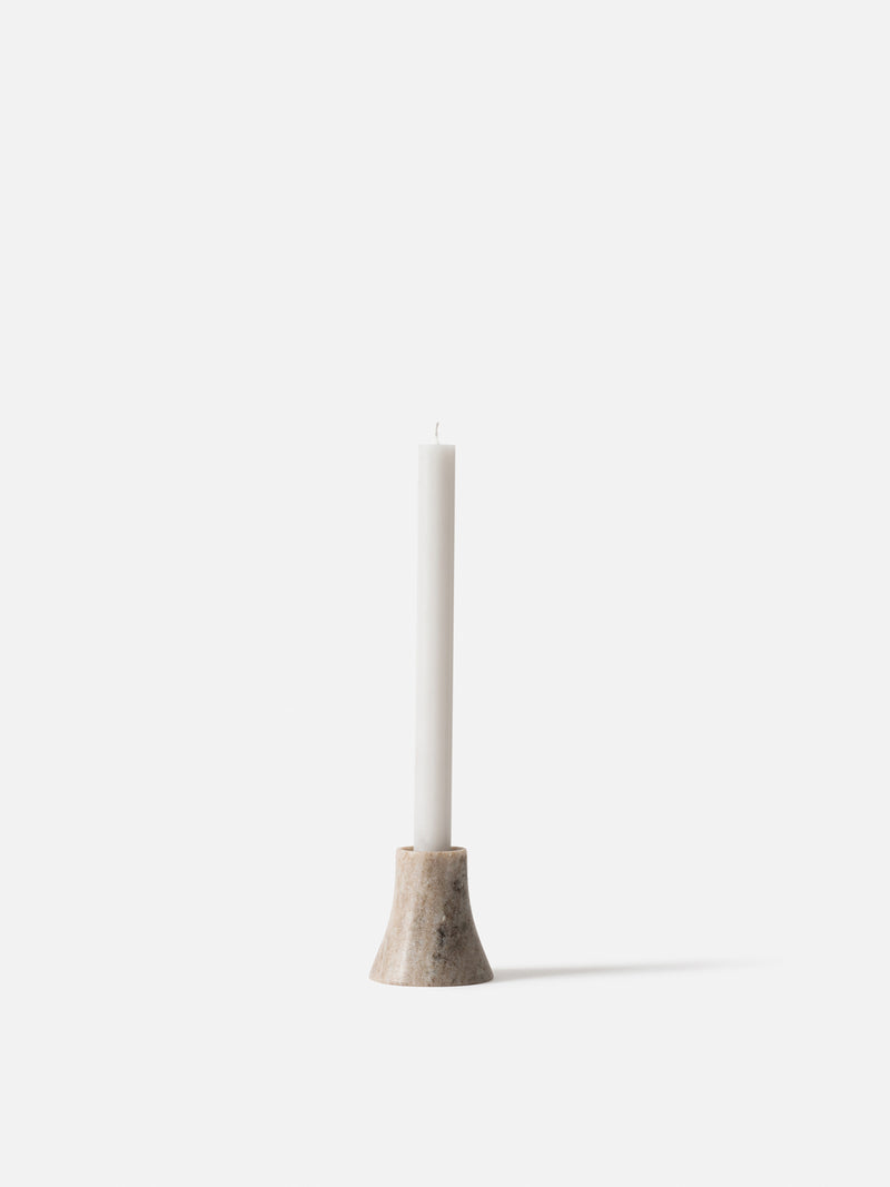Flare Candle Holder Natural