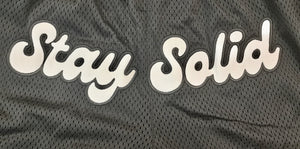 "LD "" Stay Solid "" Basketball Shorts"