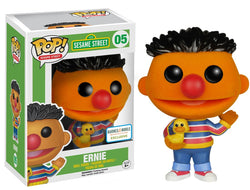 Funko Pop! Seasame Street Earnie Flocked 05