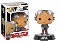 Funko Pop Maz Kanata (No Glasses) 118
