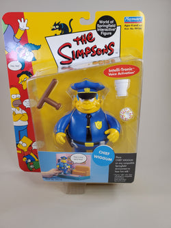 The Simpsons 	Chief Wiggum, Clancy Wiggum
