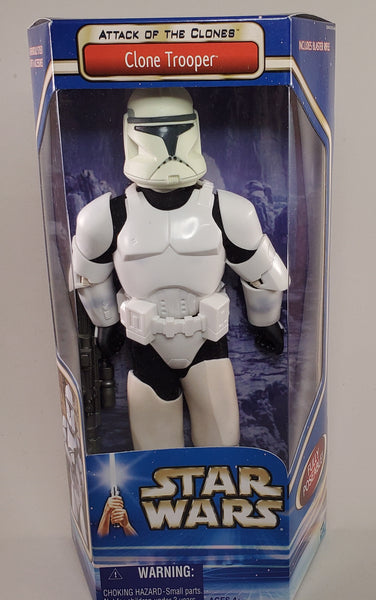 Attack of the Clones 12 in Clone Trooper Figure
