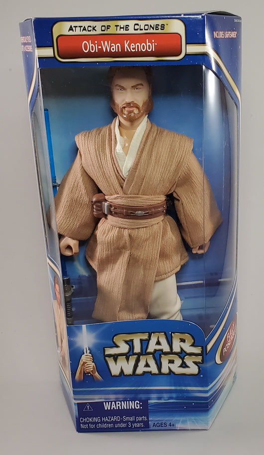Attack of the Clones 12 in Obi-Wan Kenobi Figure