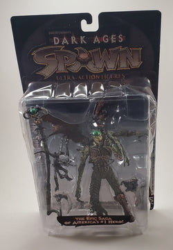 Spawn Dark Ages The Spellcaster (heavy wear packaging)