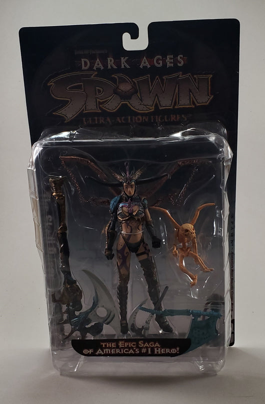 Spawn the Dark Ages The Skull Queen (heavy packaging wear)