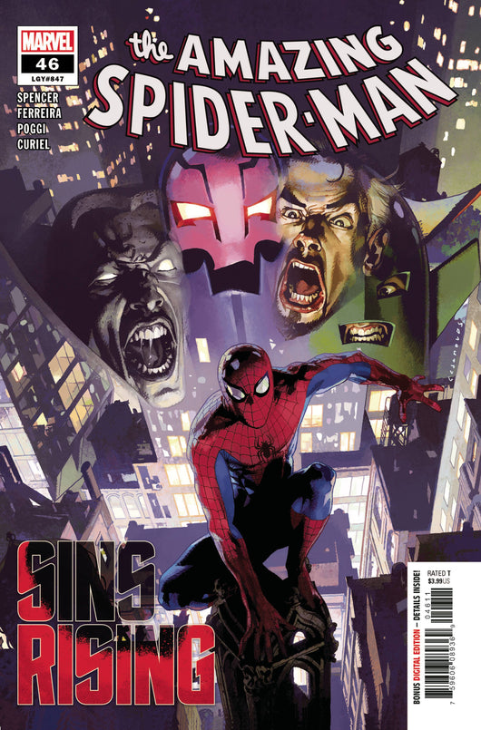 AMAZING SPIDER-MAN #46 SINS RISING Part 2