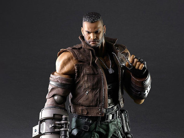 Final Fantasy VII Remake Play Arts Kai Barret Wallace V2