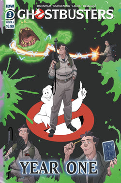 GHOSTBUSTERS YEAR ONE #3 (OF 4)