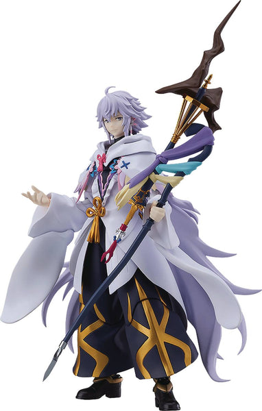 FATE GRAND ORDER ABSOLUTE DEMONIC FRONT MERLIN FIGMA AF