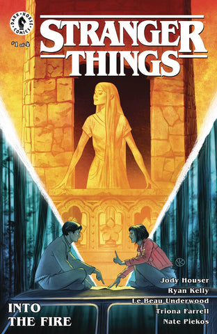 STRANGER THINGS INTO THE FIRE #1 (OF 4)