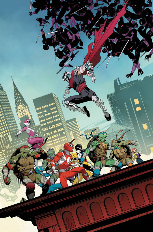 POWER RANGERS TEENAGE MUTANT NINJA TURTLES #4